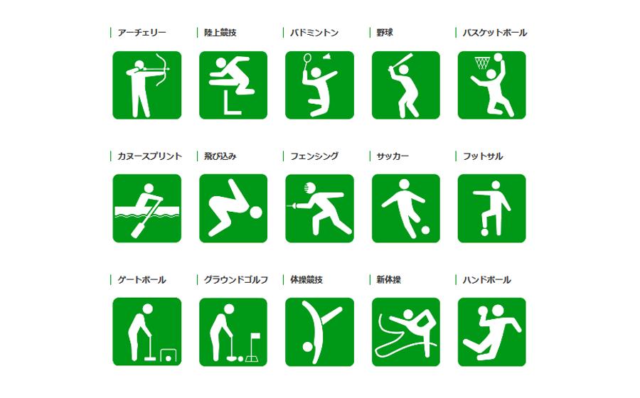 【スポーツ種目別】スポーツ施設検索のイメージ